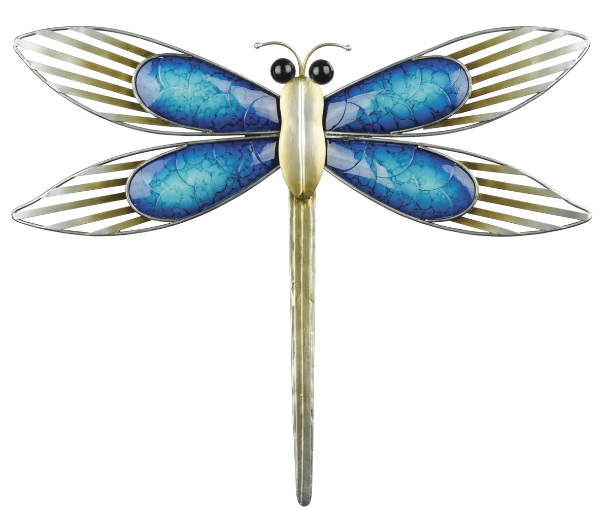Dragonfly wall art dragonfly wall art 100 metal garden for Dragonfly wall art