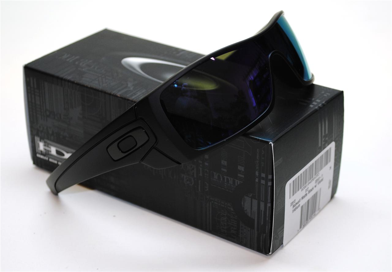 oakley matte black gascan sunglasses  oakley batwolf