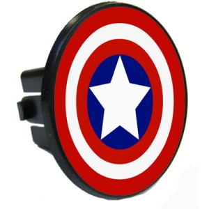 Captain America Sheild Trailer Hitch Cover Help Defend the USA