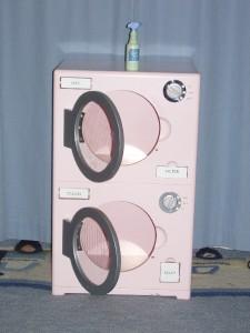 retired rare pottery barn kids pink retro kitchen washer dryer set will ship ebay. Black Bedroom Furniture Sets. Home Design Ideas