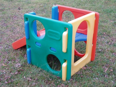 LITTLE TIKES TYKES CUBE CLIMBER SLIDE PLAYGROUND CHILD SIZE STEP2 STEP ...