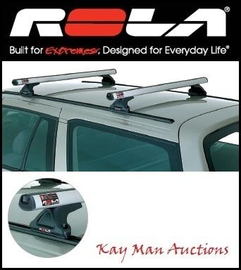 Rola-Roof-Racks-Nissan-Navara-D21-D22-Dual-Cab-1986-On-CTM-Track-Mount