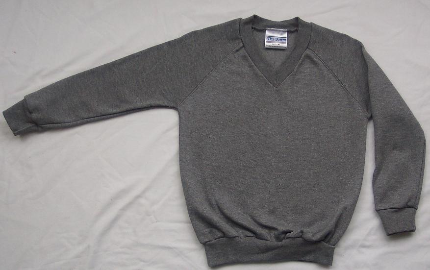 NEW-Boy-Girl-All-Colours-School-Uniform-V-Neck-Sweatshirt-Jumper-P-E-2-16-yrs