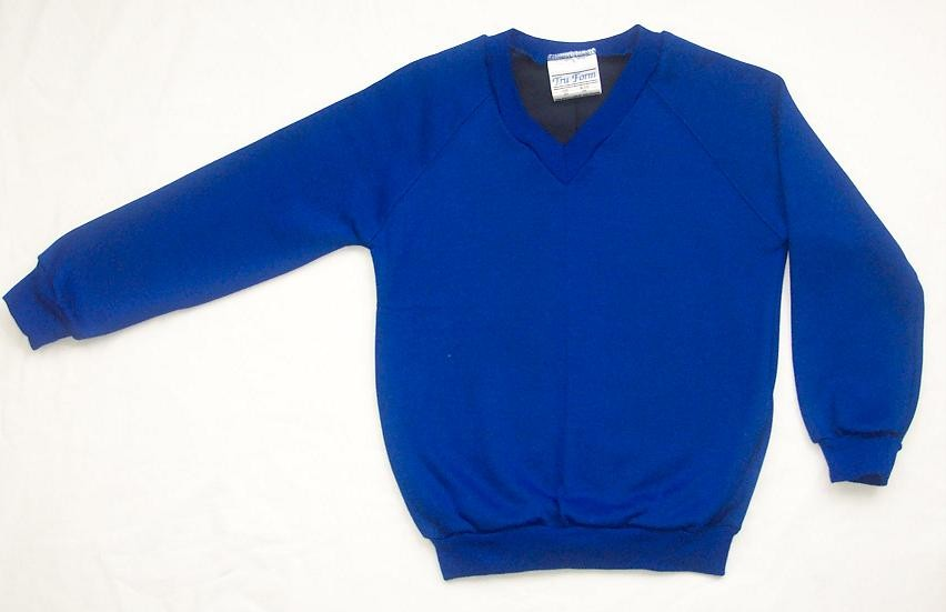 NEW-Boy-Girl-All-Colours-School-Uniform-V-Neck-Sweatshirt-Jumper-P-E-2-16-yrs