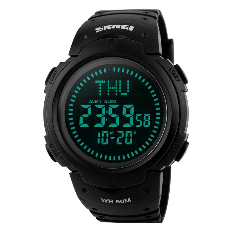 COMPASS-Digital-Wrist-Watch-Shock-Waterproof-Skmei-G-LED-Quartz-5-ATM-Mens-Boys