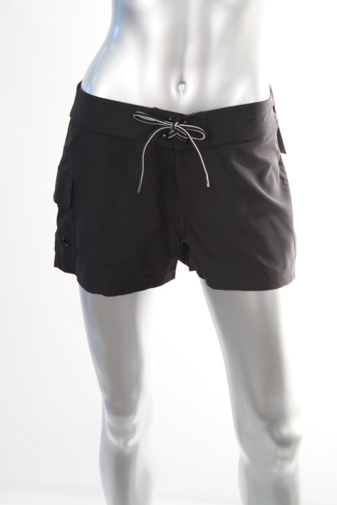 Jag-Womens-Black-Swimwear-Board-Shorts-SZ-S-M-XL