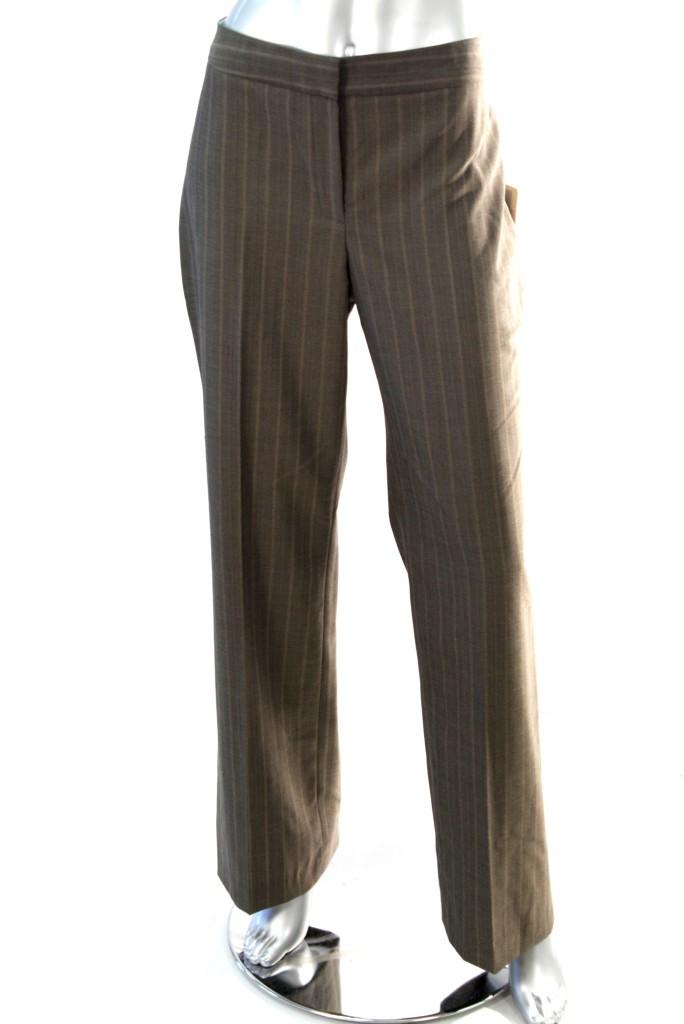 Jones-New-York-Women-039-s-Classic-Fit-Dress-Pant-Tan-SZ-14-16