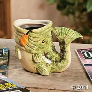 Unique Fish Shaped Coffee Mug New Ebay