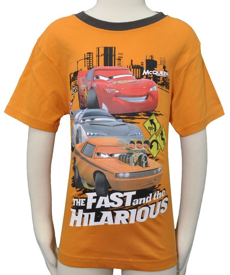 boys disney pixar 39 cars 39 t shirts top age 2 3 3 4 5 6 7 8. Black Bedroom Furniture Sets. Home Design Ideas