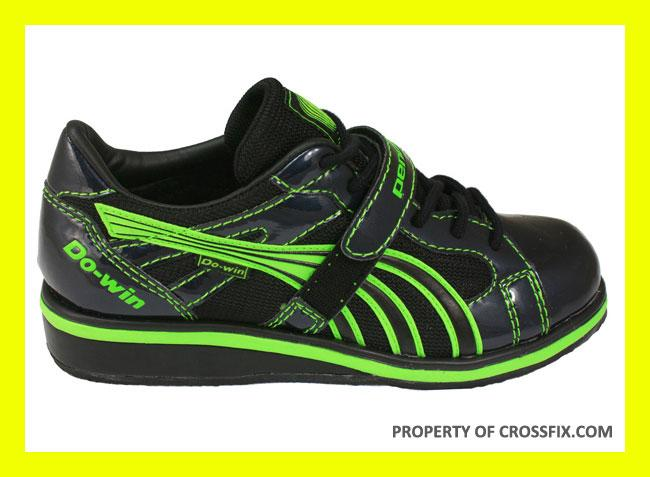 Do-Win-2011-Olympic-Weightlifting-Shoe-Lime-Green-Muscle-Driver-Shoes