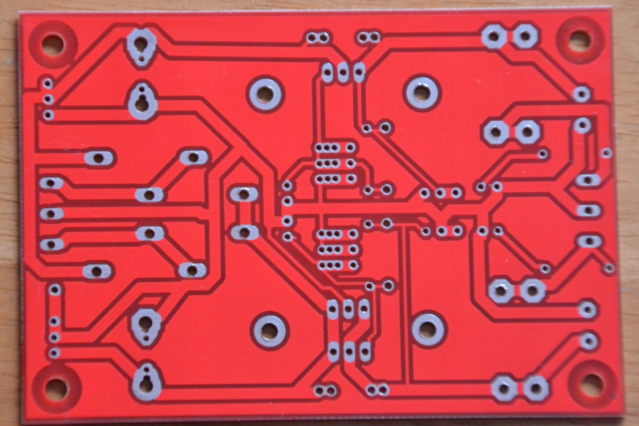 Dual voltage regulator pcb for 78xx or lm317 series ic for A href text decoration
