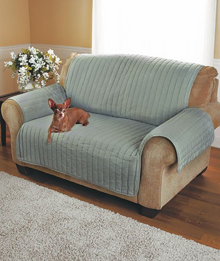 twill furniture cover 3 colors loveseat sofa couch protector dog pet