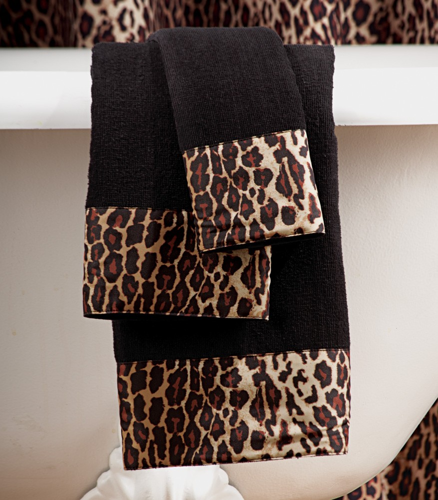 Animal print bathroom sets 28 images cheetah print for Animal print bathroom ideas