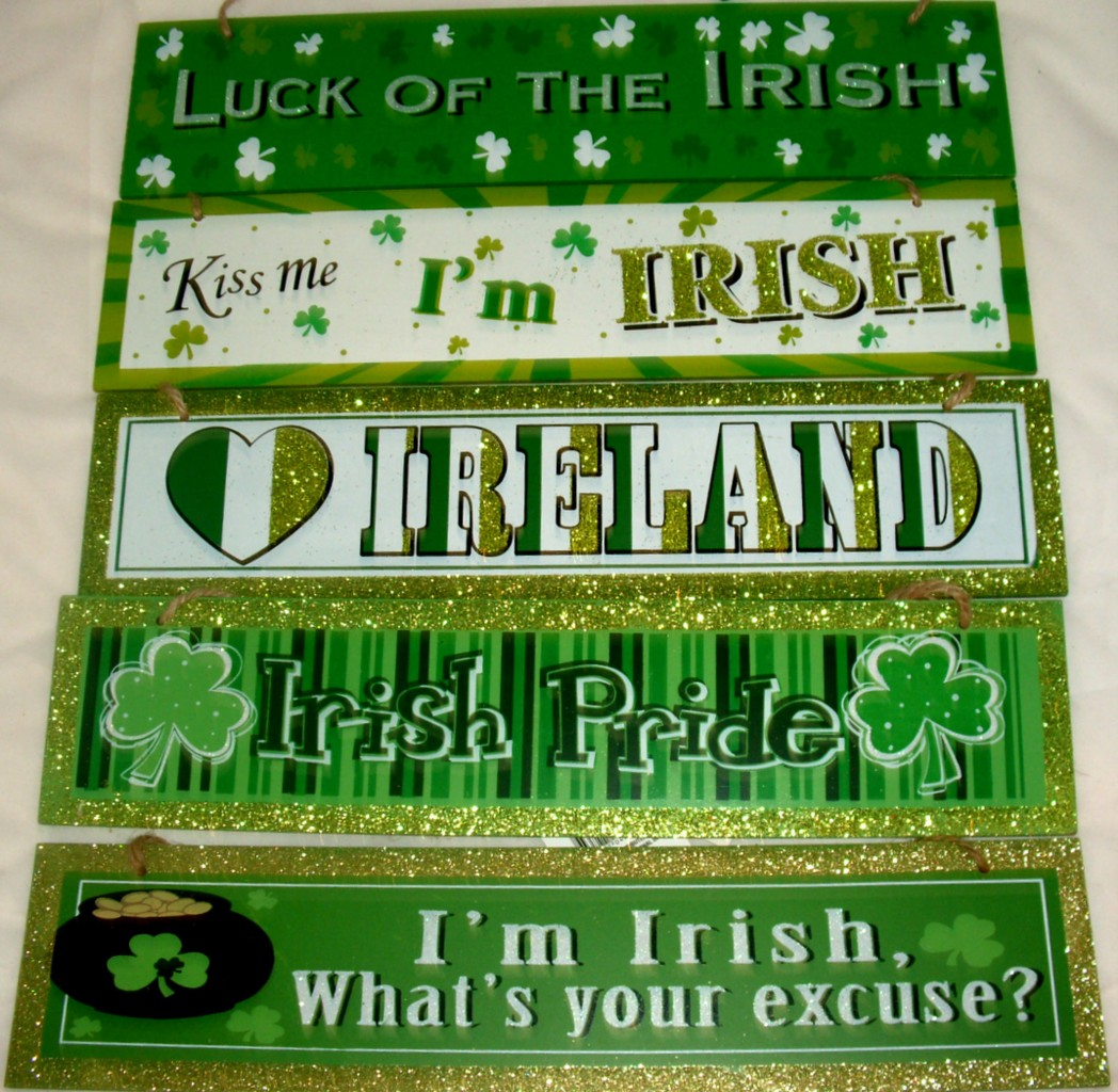 Home decor st patricks day irish funny cute sayings for Irish home decorations