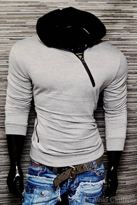 New-Mens-Hoody-Training-Hoodie-Casual-Wear-Top-Sports-Pullover-Zip-Jumper