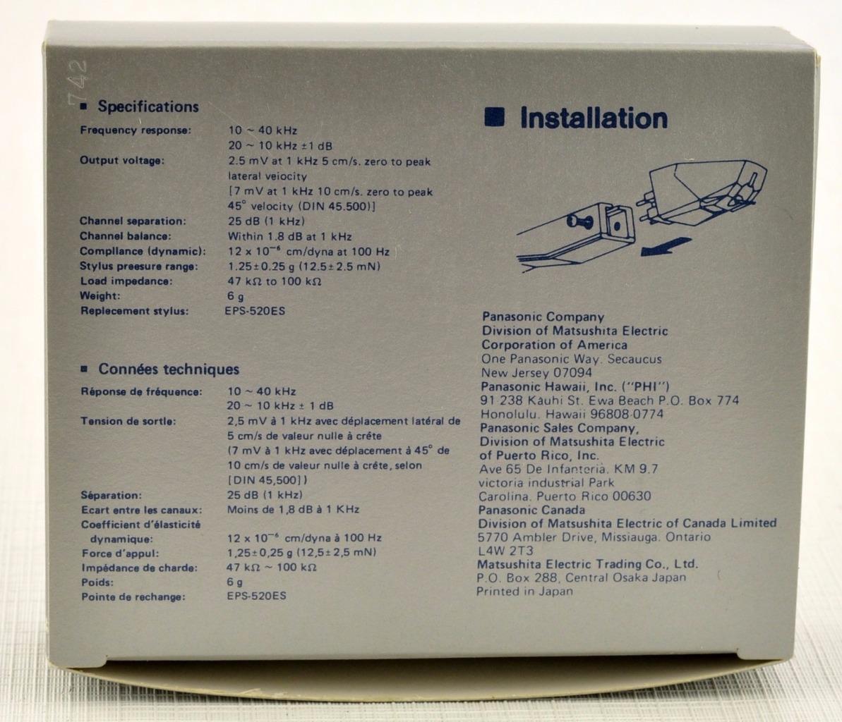 Célula recomendada para Technics SL-BD22 849992945_o