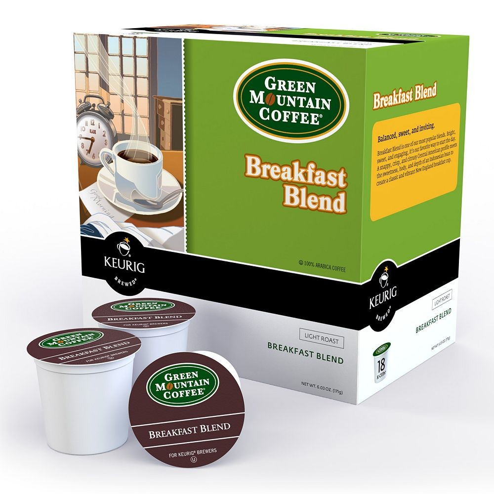 Open your eyes to the great taste of this Keurig K-Cup