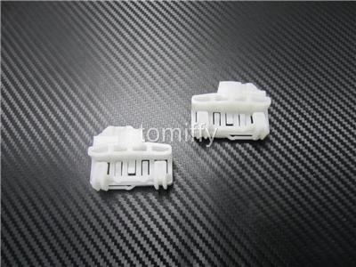 4x front left driver window regulator clips for audi a4 vw for 2001 volkswagen passat window regulator