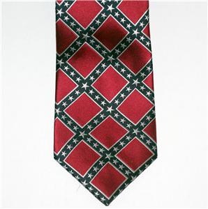 rebel csa confederate genuine silk necktie cravat new ebay