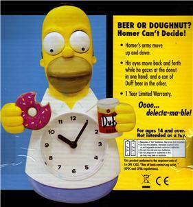 The Simpsons Family Tv Sitcom Homer Simpson Battery