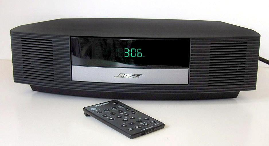 bose wave radio ii am fm alarm clock system w remote model. Black Bedroom Furniture Sets. Home Design Ideas