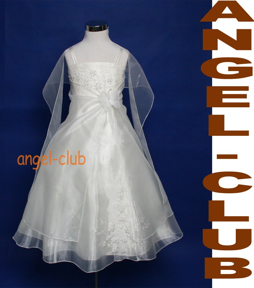 NWT-IVORY-BFY-BRIDESMAID-PAGEANT-FLOWER-GIRL-DRESS-4-18