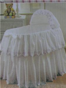 Crib Dust Ruffle Pattern from Sears.com