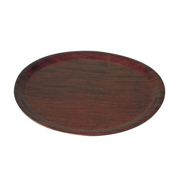 Wood Tray Pizza Serving 330mm Round Dark EBay