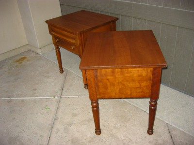Antique Stickley Furniture On Pair Of Antique Original Leopold Stickley  Cherry Valley Collection