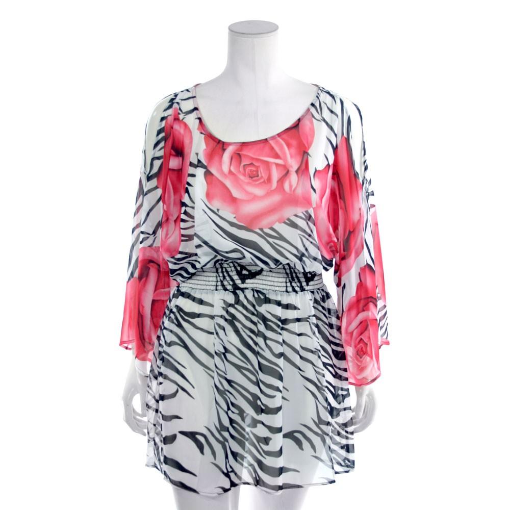womens plus size clothing top chiffon blouse smoked tunic