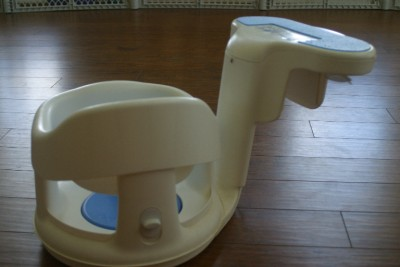 SAFETY 1ST TUBSIDE INFANT BABY BATH TUB SIDE SEAT RING