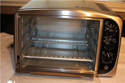Details about GE Convection Toaster Oven Air convection rotisserie
