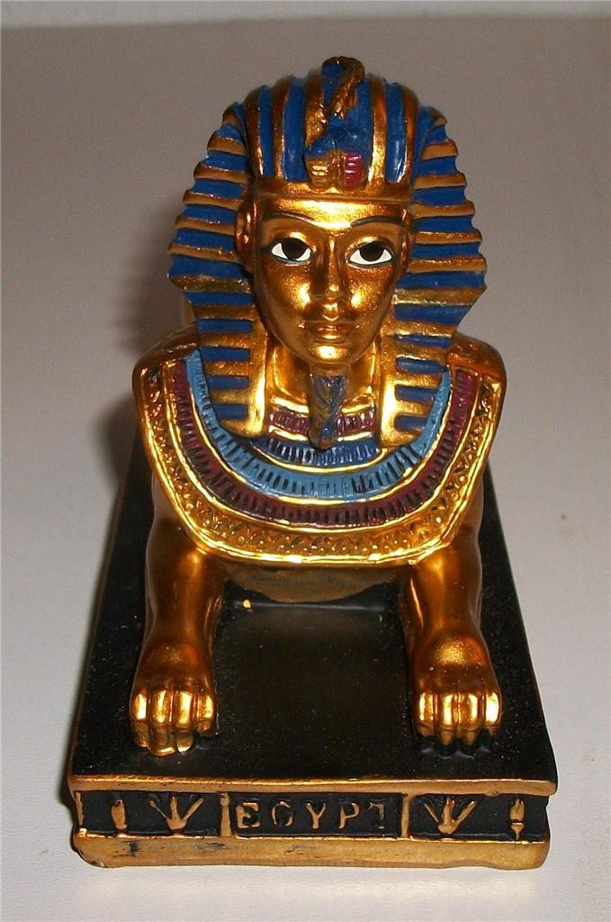 EGYPTIAN-SPHINX-TUTANKHAMEN-ORNAMENT-STATUE-Ancient-Egypt-Pyramids-Pyramid