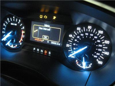 ford fusion digital speedometer dash cluster mph 36k 2014. Black Bedroom Furniture Sets. Home Design Ideas
