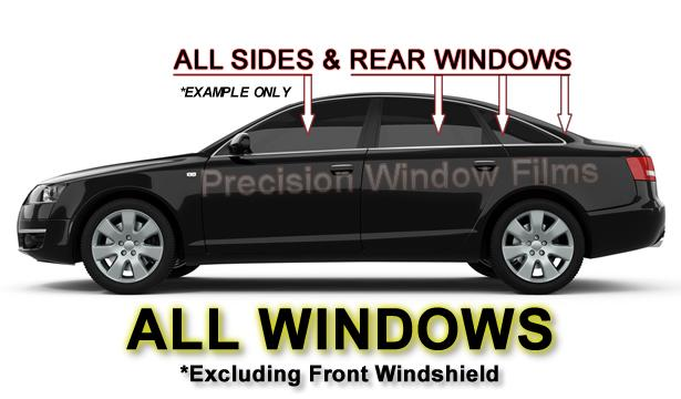 Precut all sides rears window film any tint shade vlt for All side windows