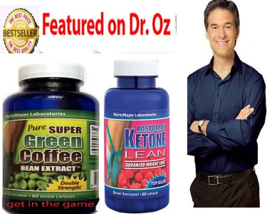 Pure Green Coffee Bean Extract Chlorogenic Acid 800mg Raspberry Ketone