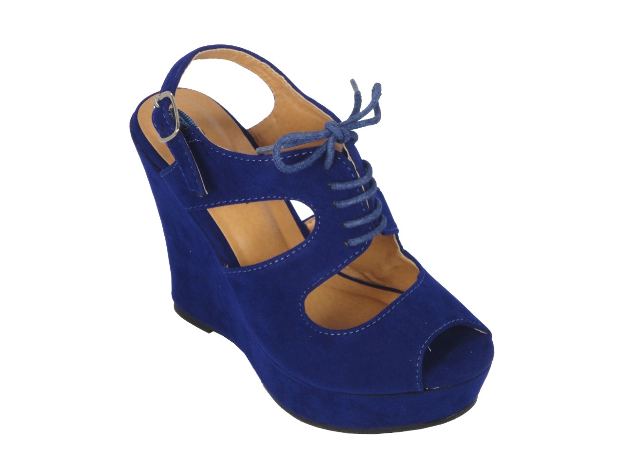 top moda river 3 royal blue wedge sandal ebay