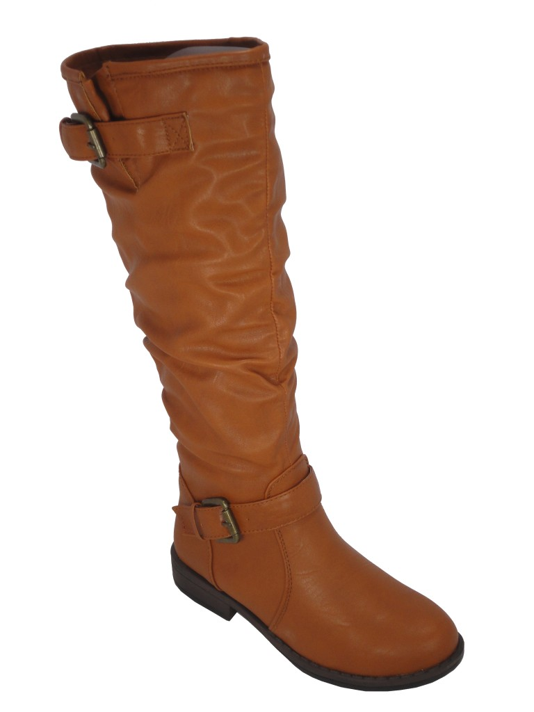 bamboo montage 02 chestnut slouchy knee high boot