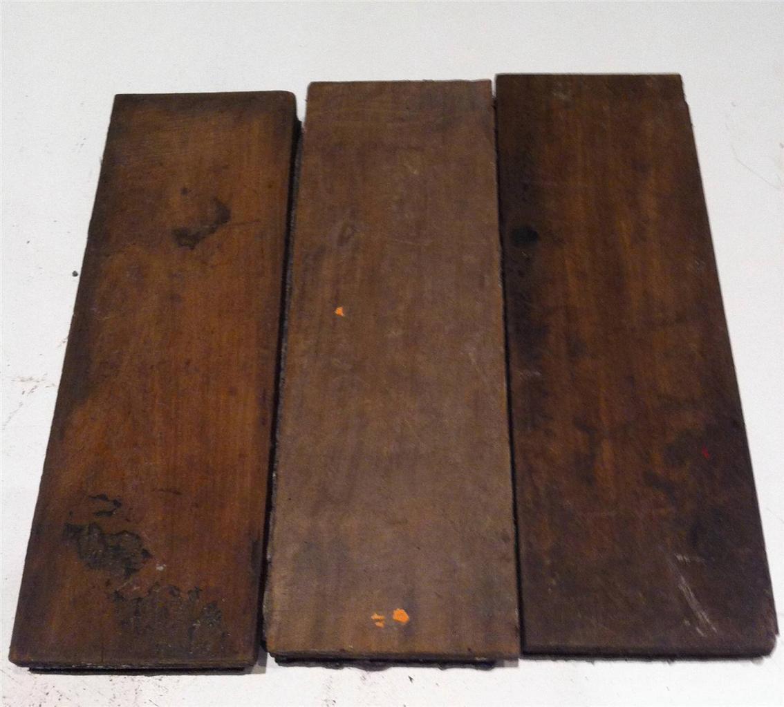 Reclaimed Teak Wood Block School Parquet Flooring Ebay
