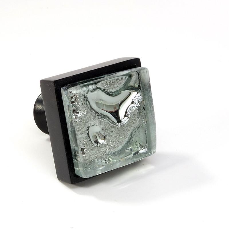 black glass cabinet pulls. Crystal-Glass-Black-Metal-Square-Knob-Modern-Cabinet- Black Glass Cabinet Pulls N