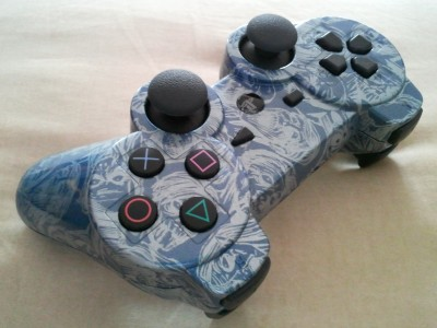 PS3 RAPID FIRE MODDED CONTROLLER PLAYSTATION 3 10 MODES MW3 BLACK OPS