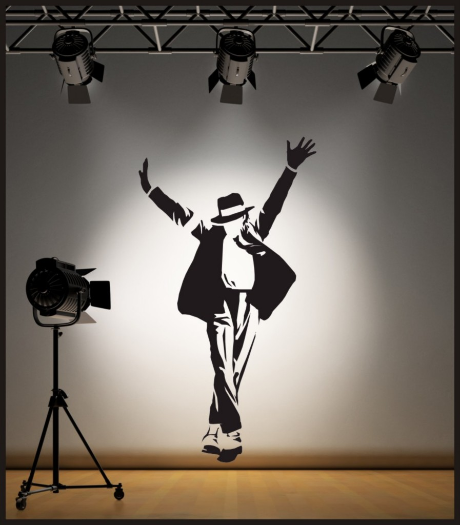 Wall Decorations Michaels : Wall art michael jackson sticker decal