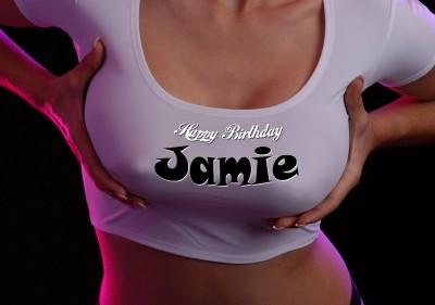 Erotic online greeting card