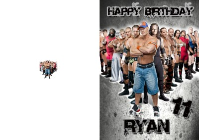 Personalised Birthday Card from