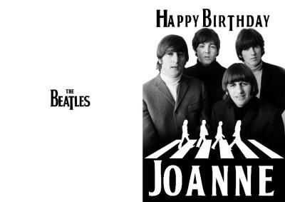 Beatles Christmas Card Christmas Lights Card and Decore – Beatles Birthday Cards