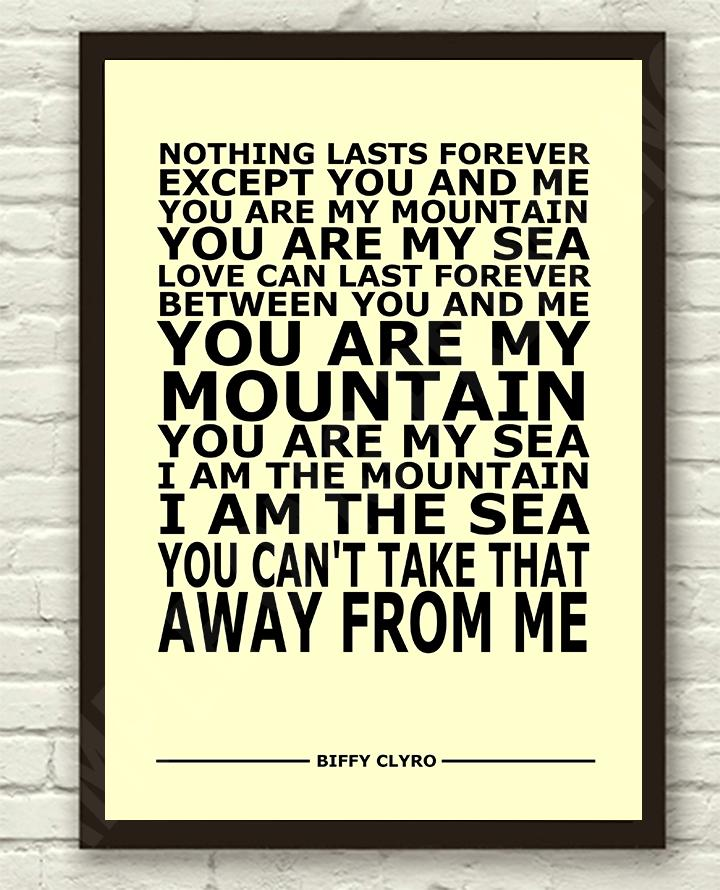 Biffy-Clyro-Mountains-Lyrics-Typography-Subway-Art-Poster-Print-A4-A3-6x4