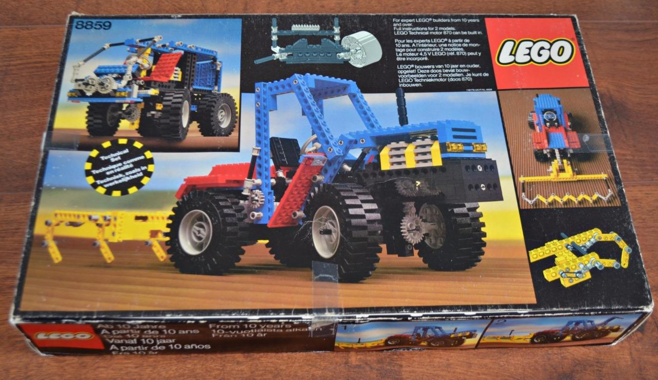 lego 8859 tractor technic set released in 1981 610 pieces ebay. Black Bedroom Furniture Sets. Home Design Ideas