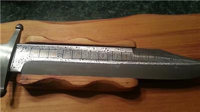 12 hr sale linder messer of solingen the alamo bowie knife 142 of 999 ebay. Black Bedroom Furniture Sets. Home Design Ideas
