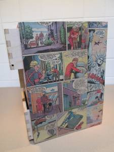 ikea vintage comic book wooden storage unit 6 drawers moppe small chest ebay. Black Bedroom Furniture Sets. Home Design Ideas