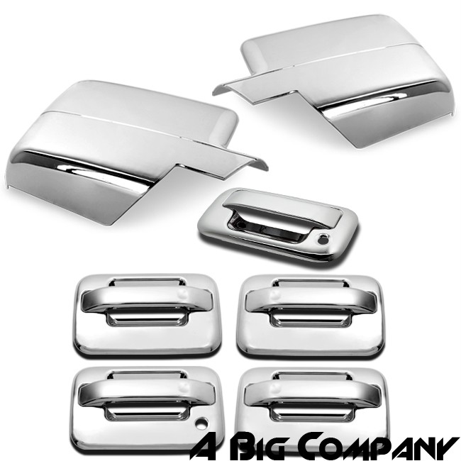 04 08 Ford F150 Crew Cab Pickup Truck Door Handle Mirror Tailgate Covers
